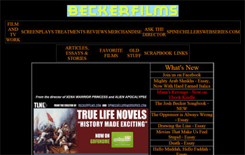 Becker Films - Director/Writer Fan Site