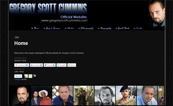 Gregory Scott Cummins - Actor Fan Site