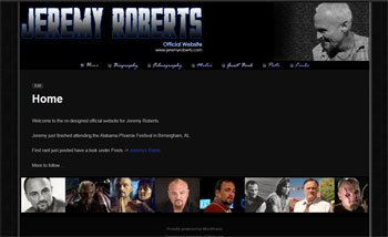 Jeremy Roberts - Actor Fan Site